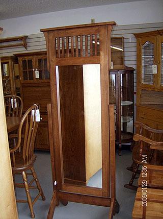 Tall Floor Mirror – Amish Custom Furniture