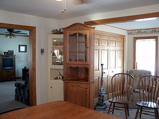 Posted On March 24 2013 By Kenny In Amish Handcrafted Furniture Cabinets Dining Room Family Kitchen Living