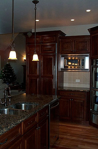 High End Kitchen Remodel 7 Amish Custom Furniture