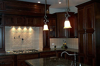 Amish Made Custom Kitchen Cabinets High End Amish Built Kitchen ...