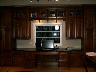 Amish Computer Desk And Cabinets