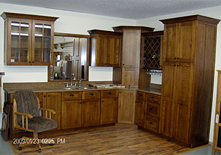 Full kitchen cabinet set