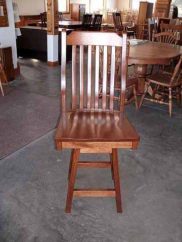 Amish Bar Stool style chair