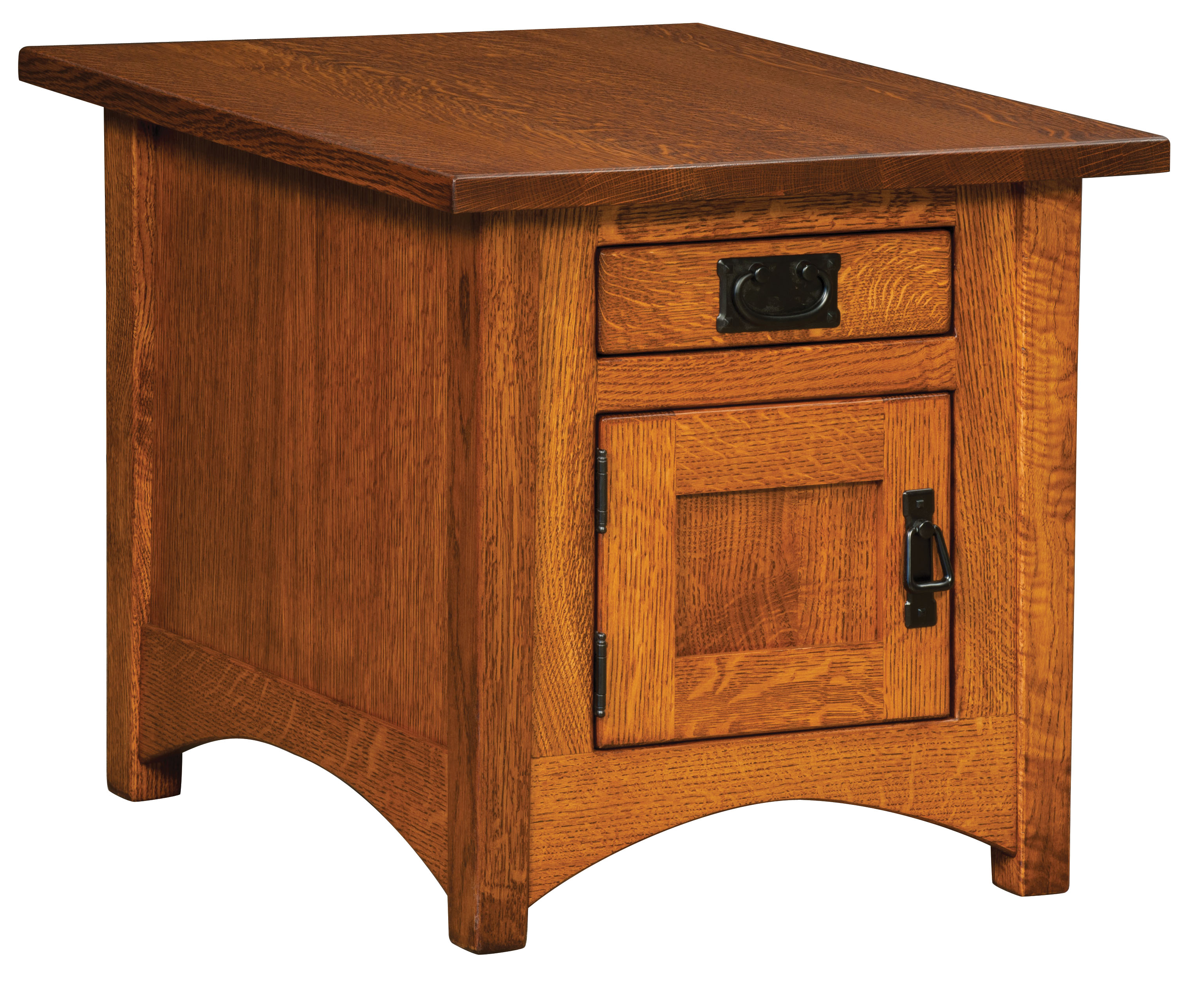 Arts Crafts Cabinet End Table Amish Custom Furniture