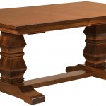 Bradbury Trestle Dining Room Table