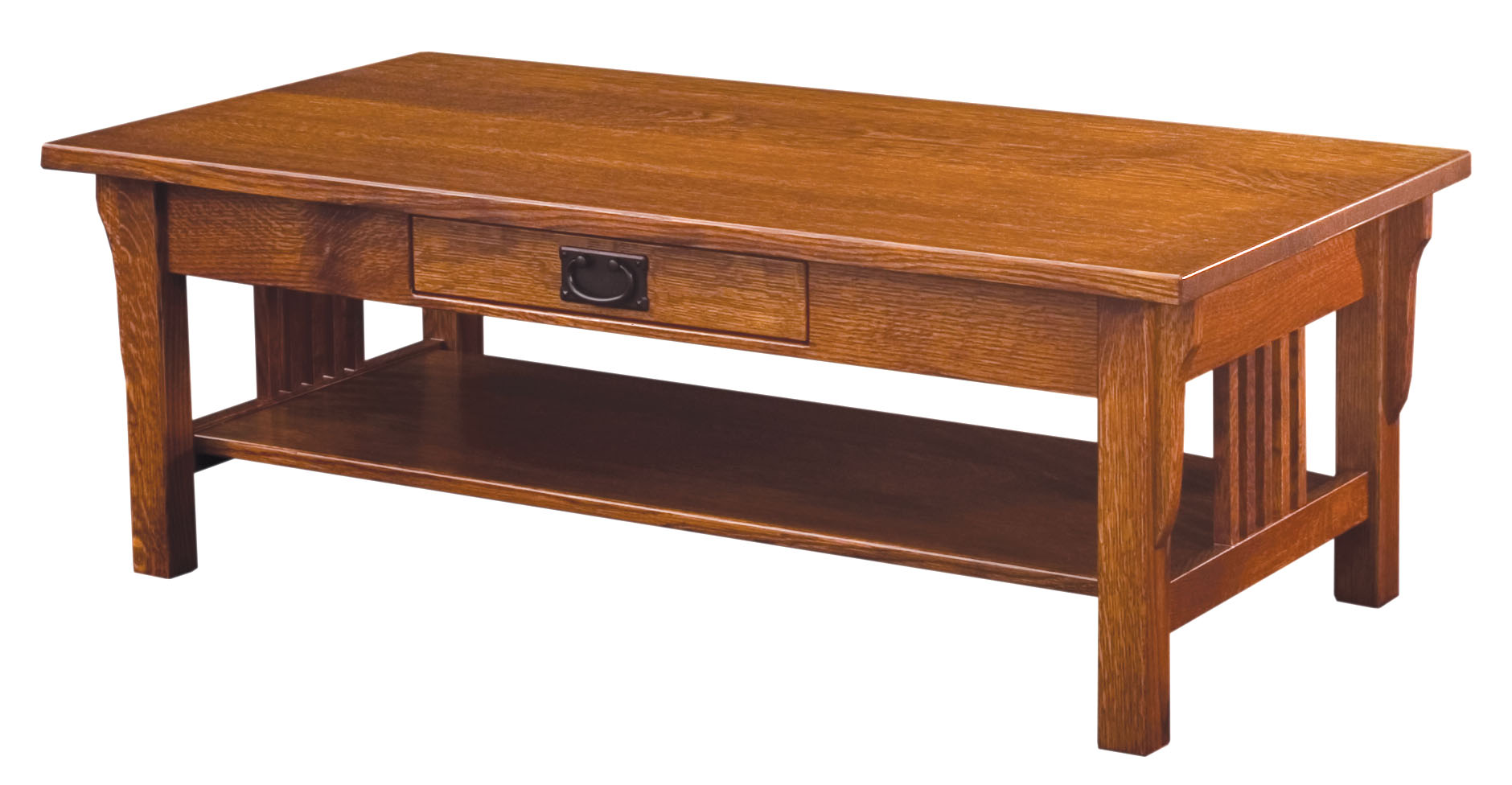 Camden Mission Coffee Table Amish Custom Furniture