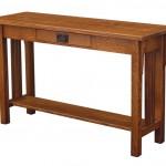 Camden Mission Sofa Table