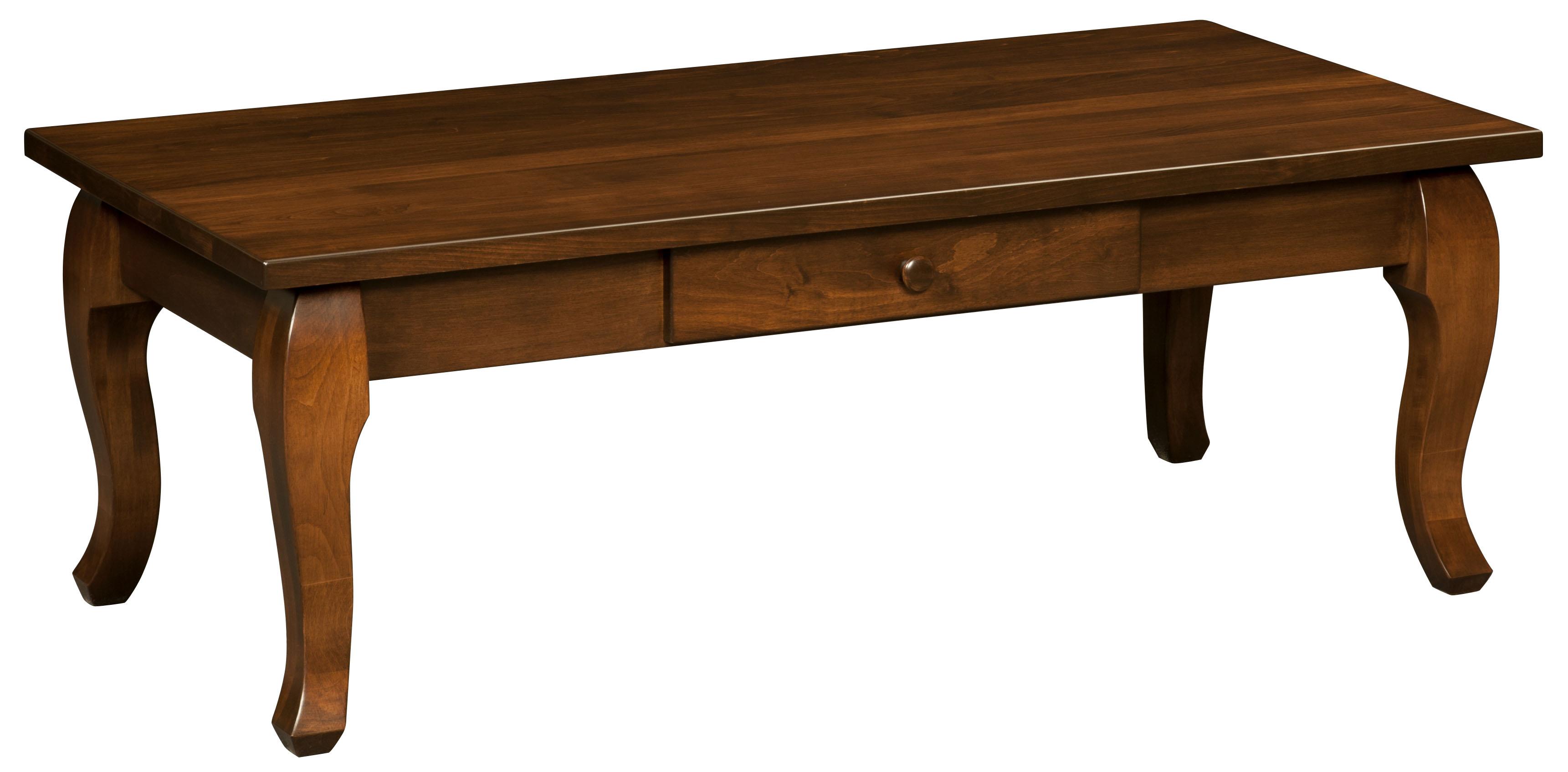 Cascade Coffee Table Amish Custom Furniture