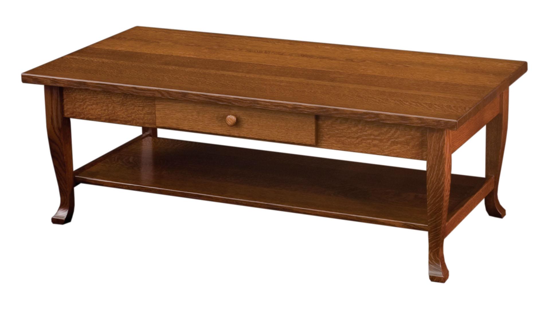 Charleston Coffee Table Amish Custom Furniture