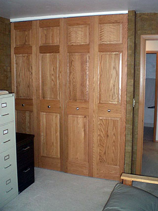 Bifold Closet Doors Style 3 Amish Custom Furniture